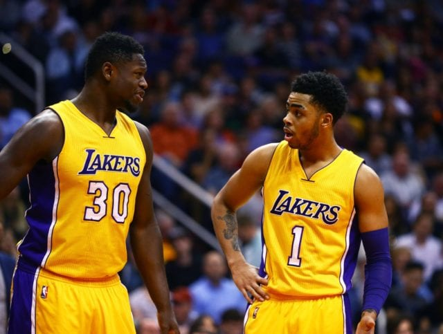 Julius Randle D'Angelo Russell Lakers