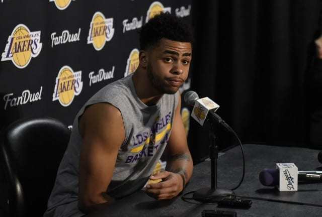 D'angelo Russell: 'thick Skin' Needed To Survive In L.a. In This Era
