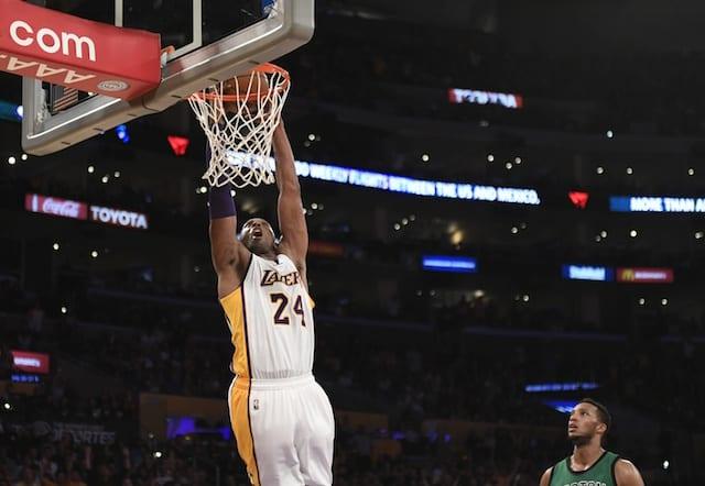 Game Recap: Lakers Fall To Celtics Despite Kobe Bryant's 34 Points