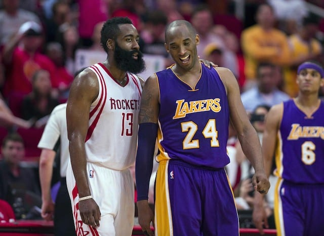 James Harden: Final Game Vs. Kobe Will Be Remembered 'the Rest Of My Life'