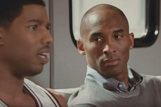 Kobe Bryant Stars In Apple Commercial With Michael B. Jordan