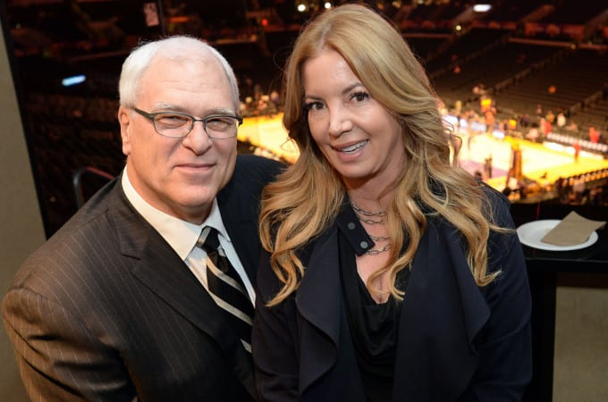 Jeanie Buss, Phil Jackson, Lakers