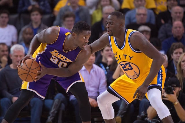 Lakers News: Julius Randle Compares Himself To Draymond Green