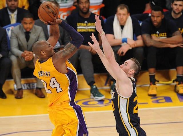 Gordon Hayward On Kobe's Last Game: 'a Lot Of Us Were In Shock'