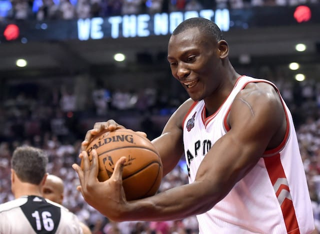 Nba Rumors: Starting Role Not Important To Bismack Biyombo