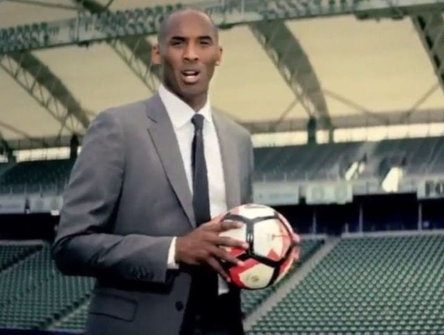 Video: Lakers Legend Kobe Bryant Featured In Copa America Commercial