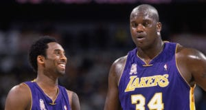 Kobe Bryant Shaquille O'Neal Lakers