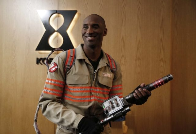 Video: Kobe Bryant Makes Cameo Appearance In Ghostbusters Commercial