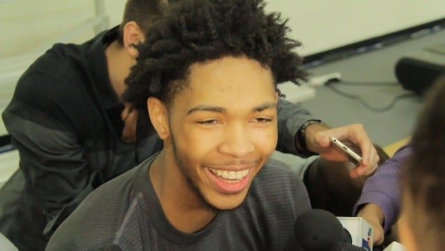 Brandon Ingram After His Lakers Pre-draft Workout (video)