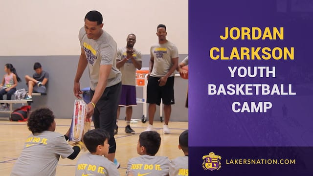 Jordan Clarkson Jc6 Nike Basketball Camp (video)
