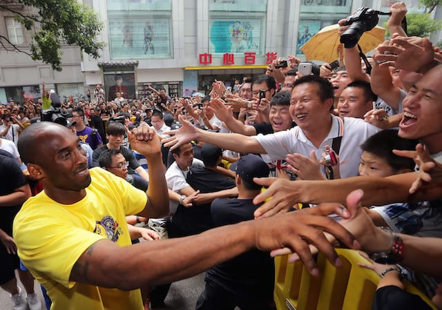 Espn Ranks Kobe Bryant As The Most Famous Athlete In China