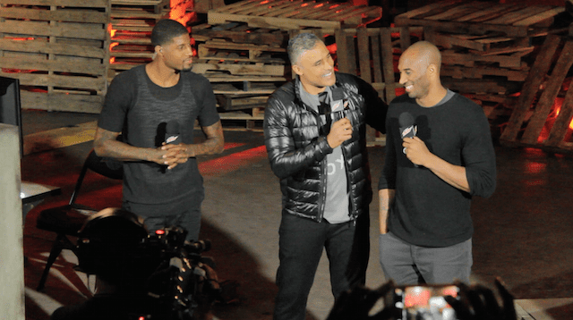 Kobe Bryant, Paul George Takeover At Nba2k16 Event