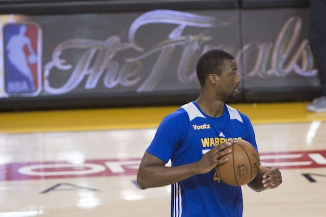 Harrison Barnes Would 'love' To Stay With Golden State In Free Agency