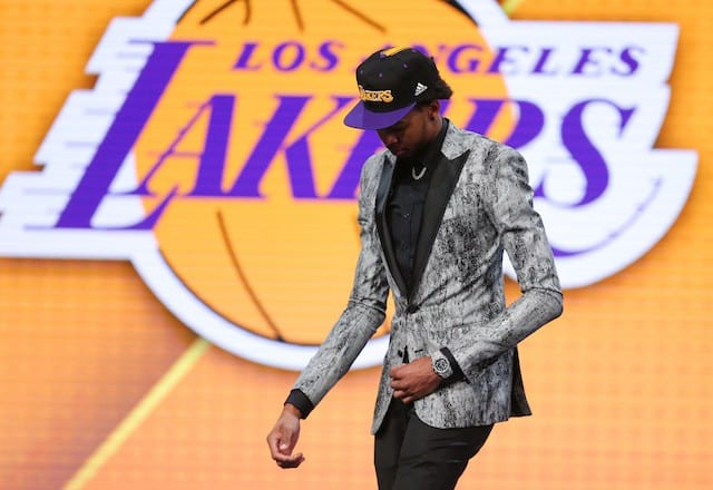 Lakers News: Brandon Ingram Has Third Highest Odds To Win Rookie Of The Year
