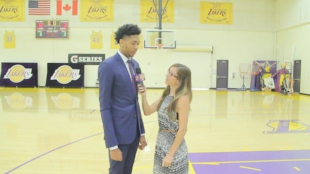 Video: Lakers Nation Interviews Brandon Ingram