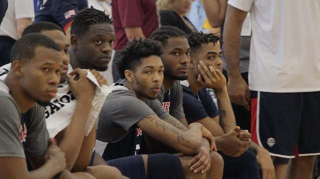 Julius Randle, Brandon Ingram, Russell Train With Team Usa (day 2)