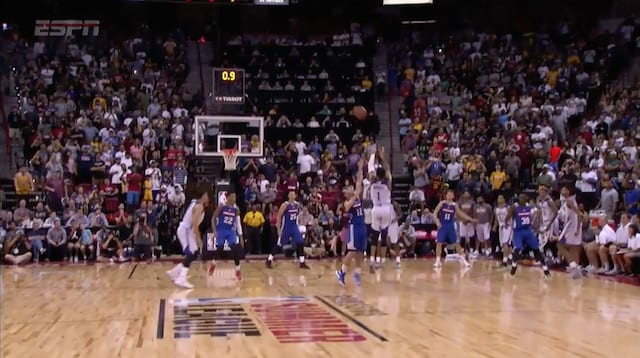 Summer League Videos: D'angelo Russell Game-winning Buzzer Beater
