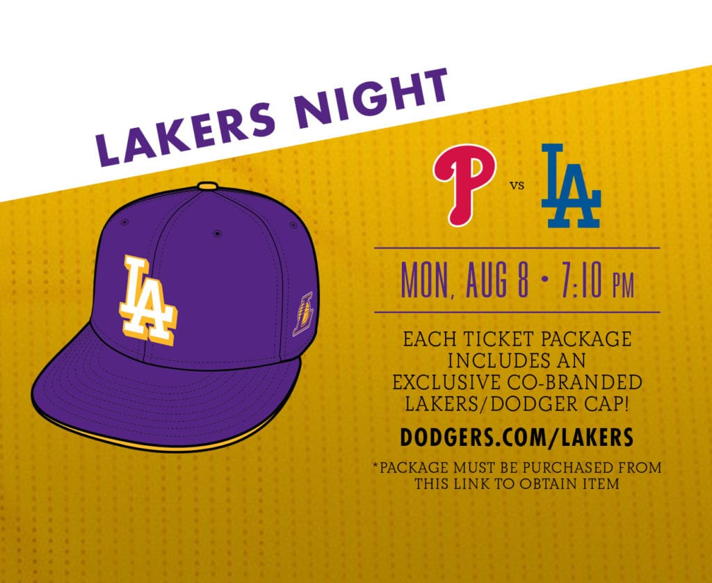 Lakers Night at Dodger Stadium