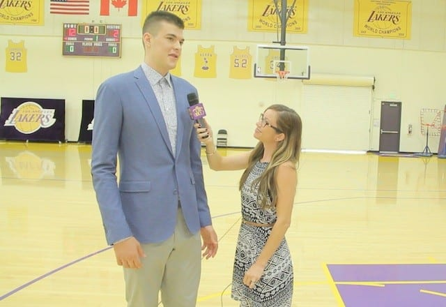 Video: Lakers Nation Interviews Ivica Zubac