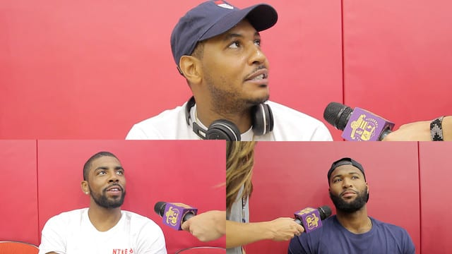 Carmelo Anthony, Demarcus Cousins, Kyrie Irving On Russell And Randle