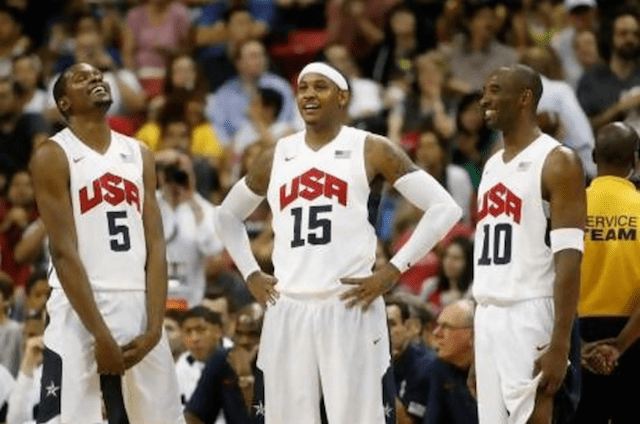 Carmelo Anthony, Kevin Durant Discuss What They Learned From Kobe Bryant On Team Usa