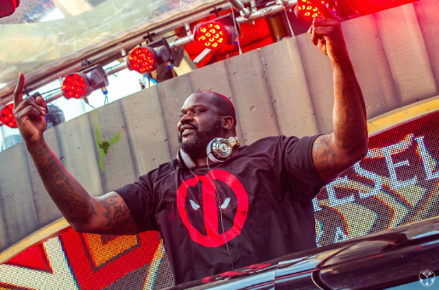 Shaq Known As 'dj Diesel' Performs At Tomorrowland Music Festival