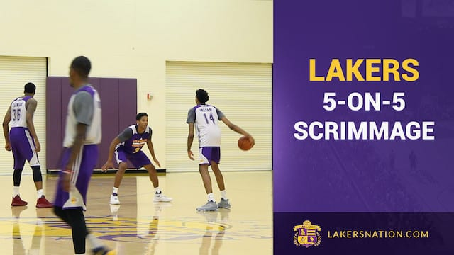 Video: Lakers 5-on-5 Scrimmage Footage: Ingram, Russell, Randle