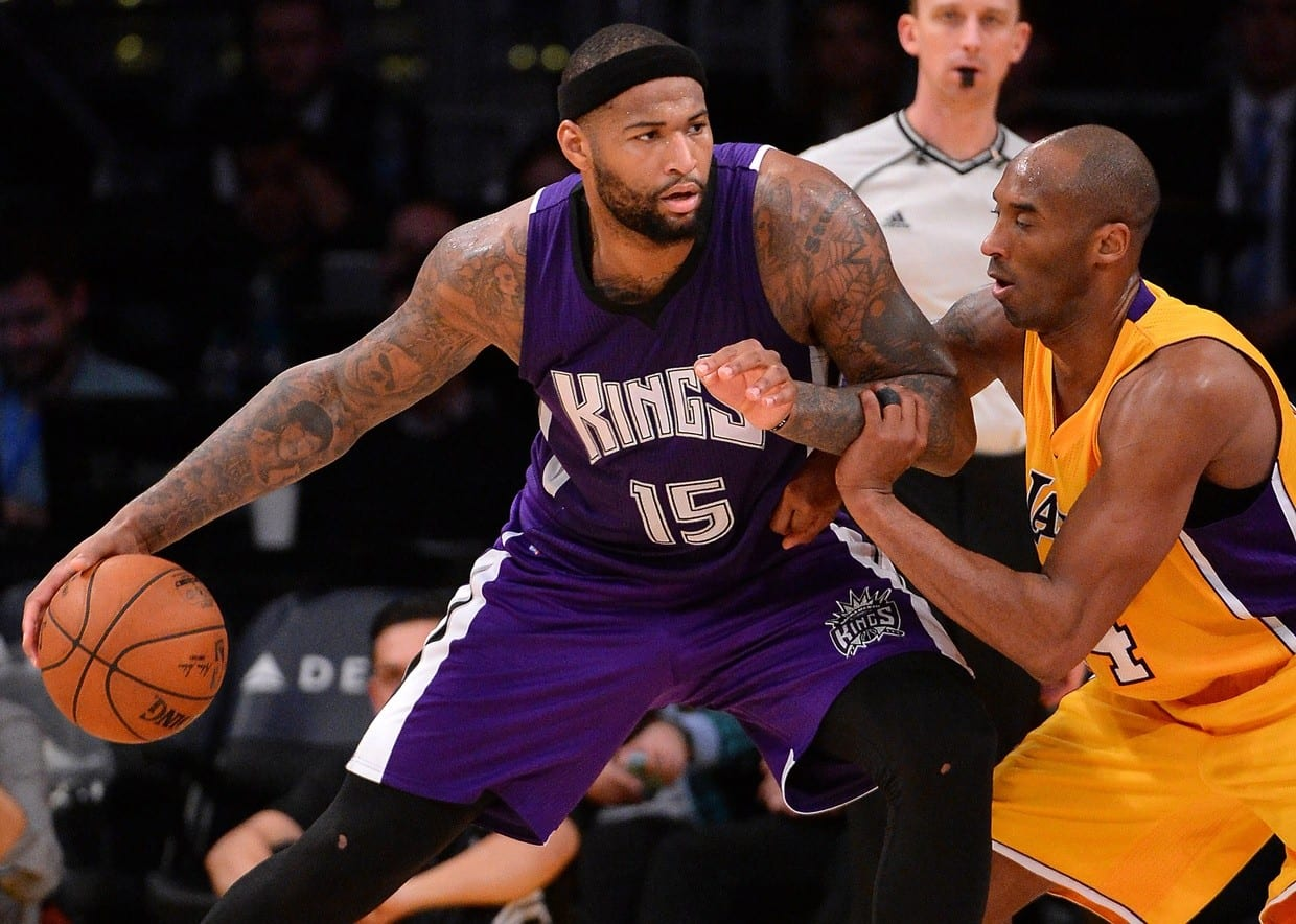 Demarcus Cousins Admits Lakers Were His Favorite Team Growing Up