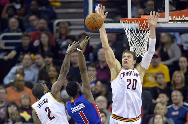 Tyronn Lue Calls Timofey Mozgov 'best Verticality Guy In The League'