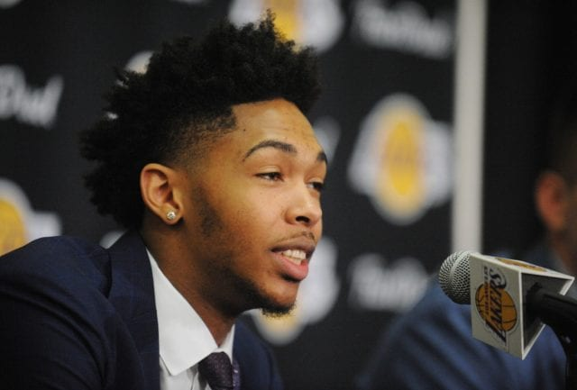 Lakers News: Brandon Ingram Likes Added 'pressure' Of Taking Kobe Bryant's Locker