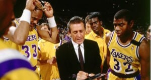 Lakers Pat Riley Magic Johnson Kareem Abdul-Jabbar