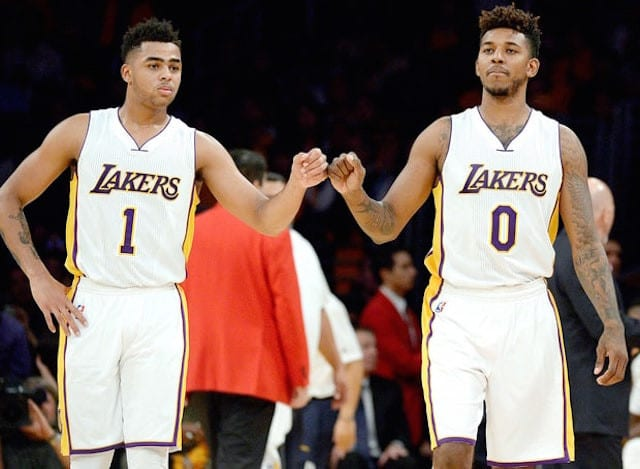 Nick Young On D'angelo Russell Rift: 'we've Already Been Working It Out'