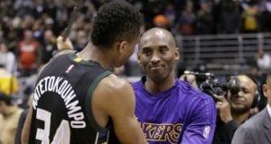 Kobe Bryant, Giannis Antetokoumpo Lakers
