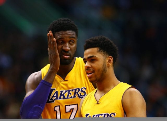 Video: D'angelo Russell Works Out With Former Laker Roy Hibbert In The Ring