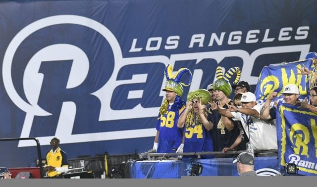 Lakers News: D'angelo Russell Makes Appearance At Rams' Preseason Game