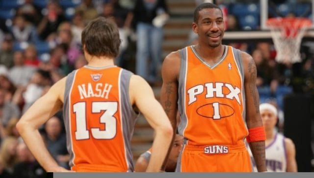 Amare Stoudemire Says Shaquille O'neal, Steve Nash Were Two Of His Favorite Teammates