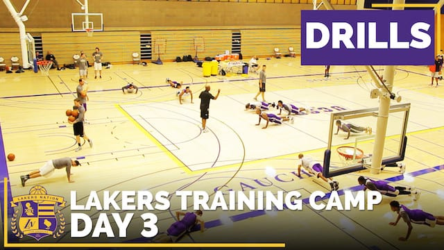 Lakers Training Camp: Day 3