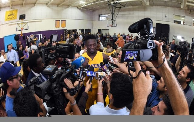 Luke Walton: Julius Randle 'incredible' Bringing Ball Up The Floor In Practice