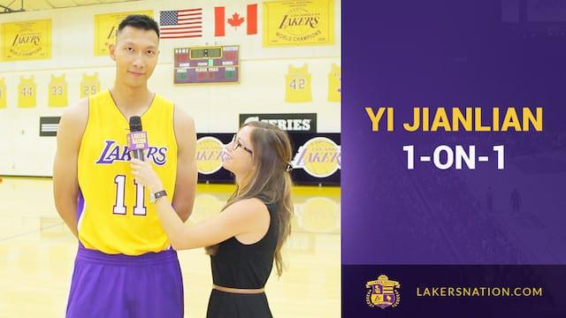Lakers Nation Interviews Yi Jianlian (video)