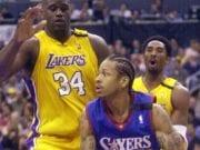 Kobe Bryant, Allen Iverson, Shaquille O'Neal