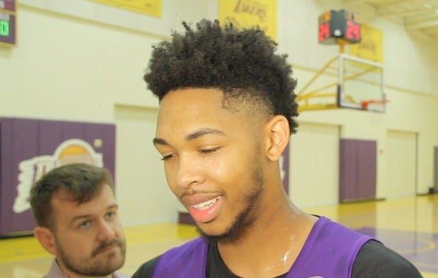 Brandon Ingram On What He'll Remember Most About His Nba Rookie Debut