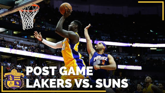 Los Angeles Lakers Vs. Phoenix Suns Postgame (videos)