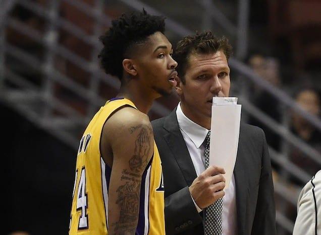 Lakers Video: D'angelo Russell, Brandon Ingram Reiterate Luke Walton's Excitement In Practice