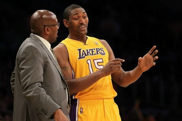 Metta World Peace Mike Brown