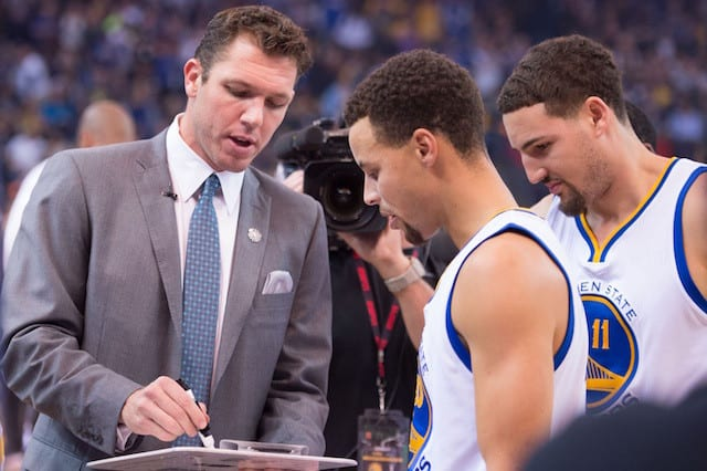 Stephen Curry, Klay Thompson See Culture Change In Lakers With Luke Walton