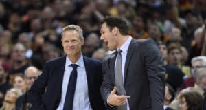 Luke Walton and Steve Kerr Lakers Warriors