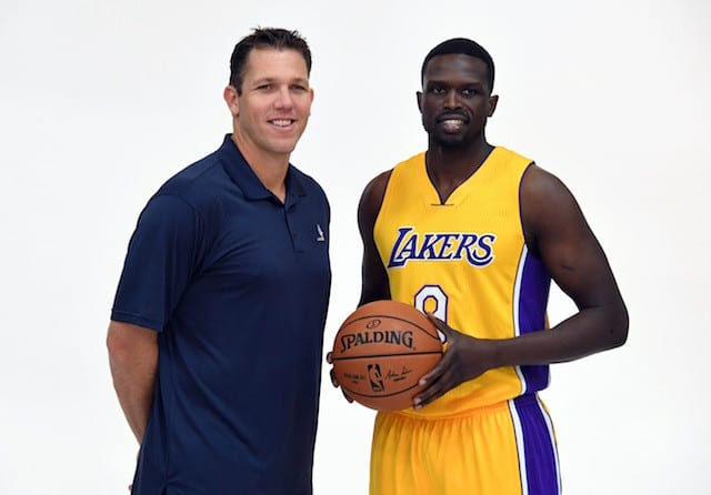 Luke Walton's System Helped Draw Luol Deng To The Lakers