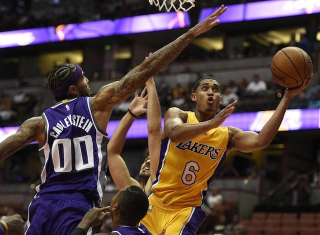 Game Recap: Lakers Open Preseason With Win Over Sacramento Kings