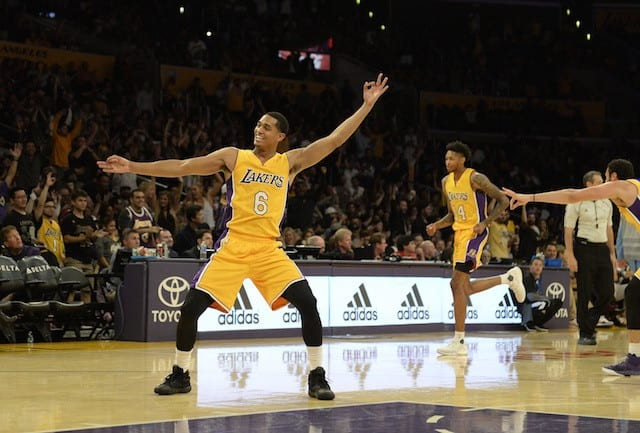 Jordan Clarkson On Success Of Bench Unit: 'we're Having Fun'