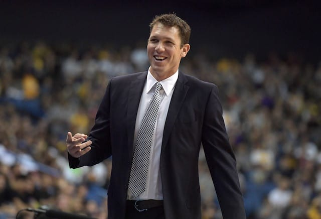 Luke Walton To Lakers' Open Shooters: 'i Want You To Shoot It'